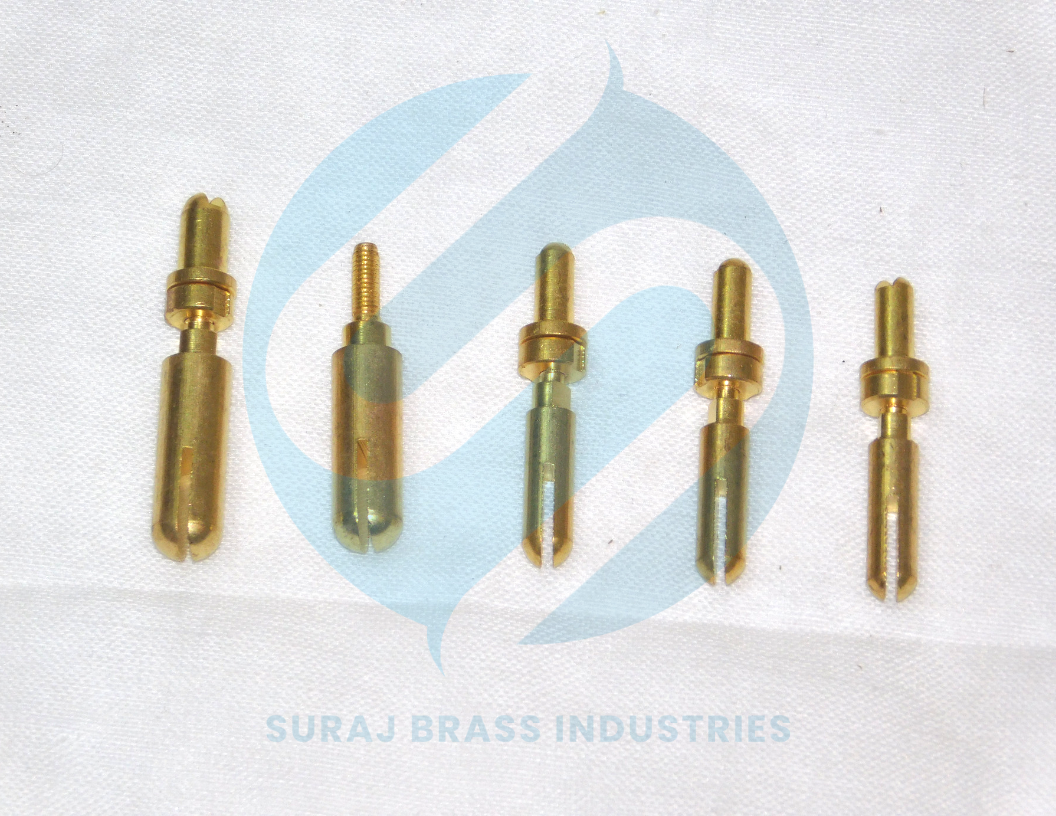 brass elactrical parts